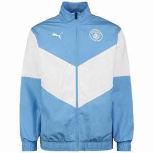 Manchester City Pre-Match Trainingsjacke Herren, hellblau / weiß, zoom bei OUTFITTER Online