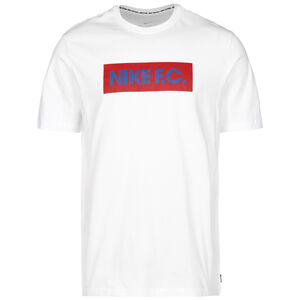 F.C. Essentials T-Shirt Herren, weiß / rot, zoom bei OUTFITTER Online