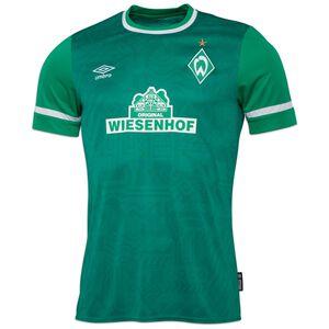SV Werder Bremen Trikot Home 2021/2022 Herren, grün / weiß, zoom bei OUTFITTER Online