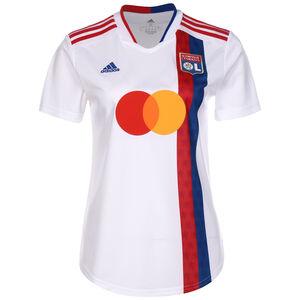 Olympique Lyon Trikot Home 2021/2022 Damen, weiß / rot, zoom bei OUTFITTER Online