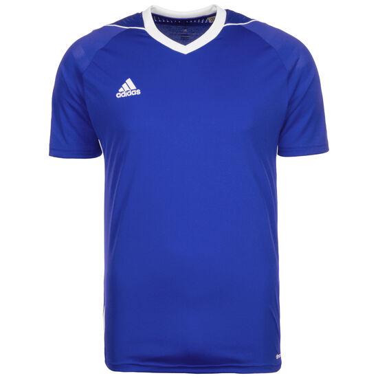 Tiro 17 Fußballtrikot Herren, blau / weiß, zoom bei OUTFITTER Online