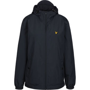 Micro Fleece Lined Zip Through Kapuzenjacke Herren, dunkelblau, zoom bei OUTFITTER Online