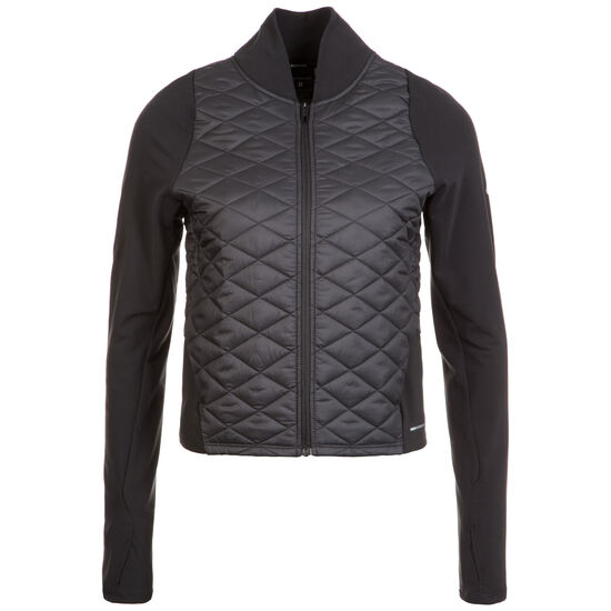 AeroLayer Laufjacke Damen, schwarz / grau, zoom bei OUTFITTER Online