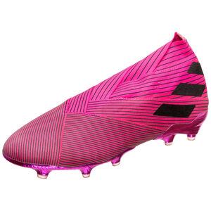 Nemeziz 19+ FG Fußballschuh Herren, pink / schwarz, zoom bei OUTFITTER Online