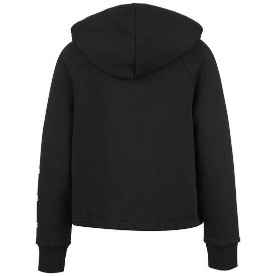 Stacked Logo Kapuzensweatjacke Damen, schwarz, zoom bei OUTFITTER Online