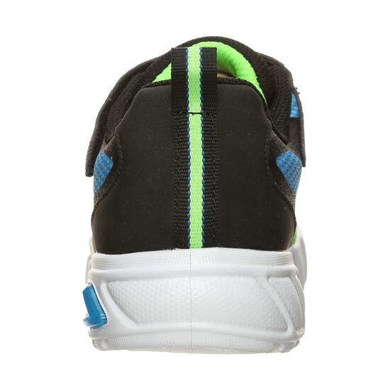 Flex-Glow Dezlom Sneaker Kinder, schwarz / hellgrün, zoom bei OUTFITTER Online