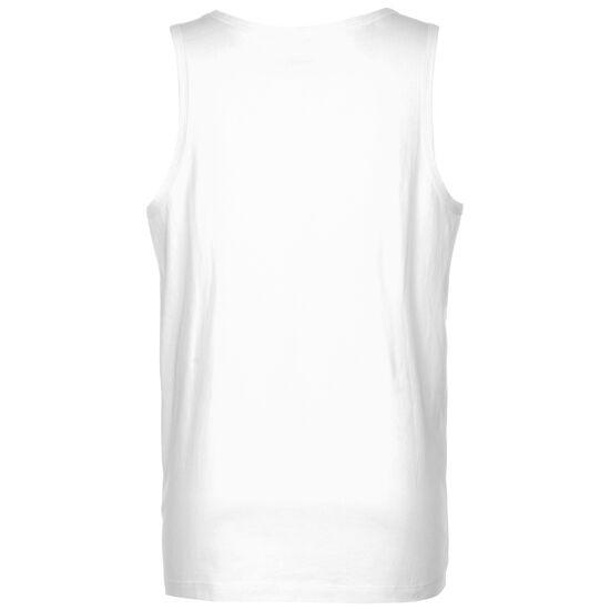 Sportswear Tanktop Herren, weiß / schwarz, zoom bei OUTFITTER Online