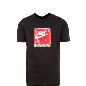 Air Shoe Box T-Shirt Kinder, schwarz / rot, zoom bei OUTFITTER Online
