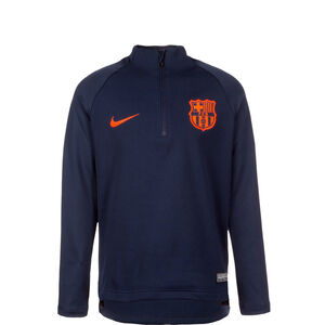 FC Barcelona Squad Drill Trainingsshirt Kinder, Blau, zoom bei OUTFITTER Online