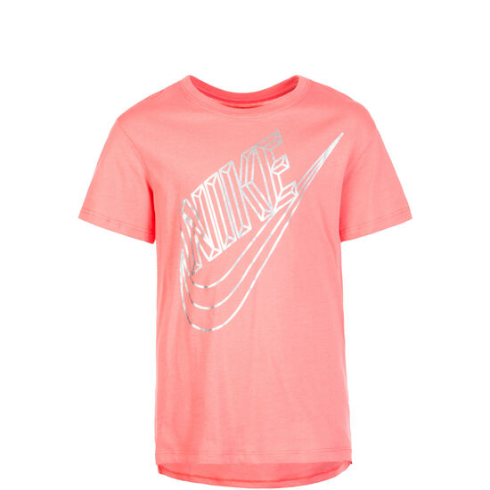 Faceted Futura T-Shirt Kinder, pink, zoom bei OUTFITTER Online