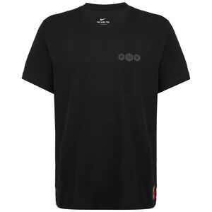 Dri-FIT Kyrie Logo Basketballshirt Herren, schwarz, zoom bei OUTFITTER Online