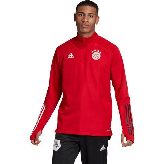 FC Bayern München Warm Trainingssweat Herren, rot / schwarz, zoom bei OUTFITTER Online