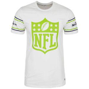 NFL Badge Seattle Seahawks T-Shirt Herren, weiß / hellgrün, zoom bei OUTFITTER Online