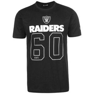 NFL Las Vegas Raiders On Field Graphic T-Shirt Herren, schwarz, zoom bei OUTFITTER Online