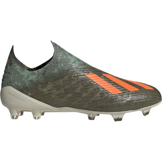 X 19+ FG Fußballschuh Herren, oliv / orange, zoom bei OUTFITTER Online