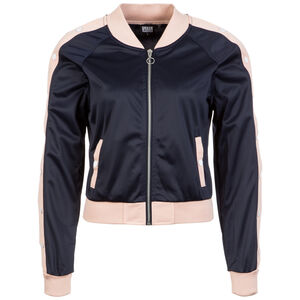 Button Up Track Jacke Damen, Blau, zoom bei OUTFITTER Online