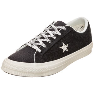 Cons One Star OX Sneaker Damen, Schwarz, zoom bei OUTFITTER Online