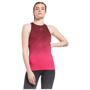 United By Fitness Seamless Trainingstank Damen, bordeaux / pink, zoom bei OUTFITTER Online