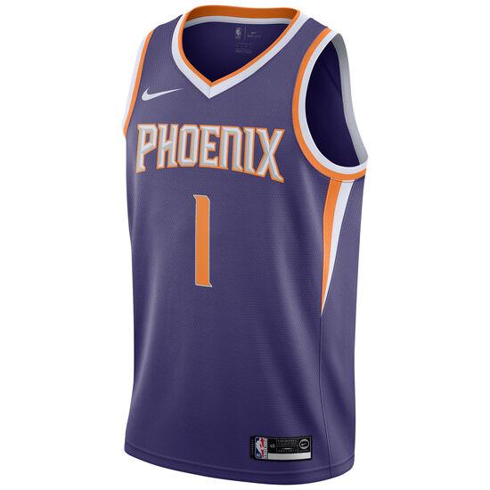 NBA Phoenix Suns #1 Booker Basketballtrikot Herren, lila / weiß, zoom bei OUTFITTER Online