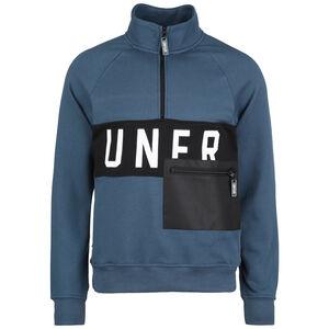UNFR Half-Zip Sweatshirt Herren, petrol / schwarz, zoom bei OUTFITTER Online