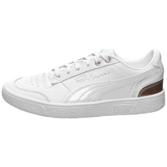 Ralph Sampson Low Metal Sneaker Damen, weiß / rosé gold, zoom bei OUTFITTER Online