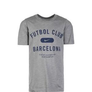FC Barcelona T-Shirt Kinder, hellgrau / dunkelblau, zoom bei OUTFITTER Online