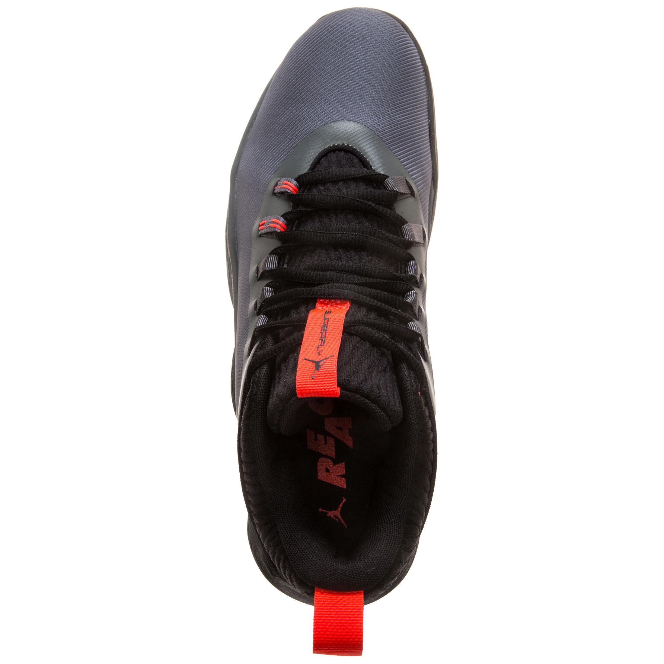 Jordan 1 Low Herren Sneaker Grau Schwarz Online