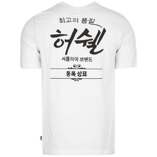 Tee T-Shirt Herren, weiß / dunkelgrau, zoom bei OUTFITTER Online