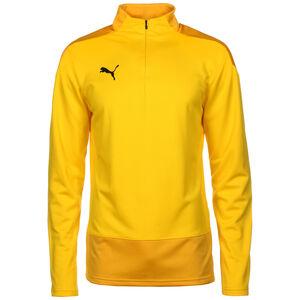 teamGOAL 23 Trainingspullover Herren, gelb / dunkelgelb, zoom bei OUTFITTER Online