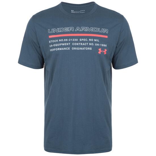 Issued Trainingsshirt Herren, anthrazit / rot, zoom bei OUTFITTER Online