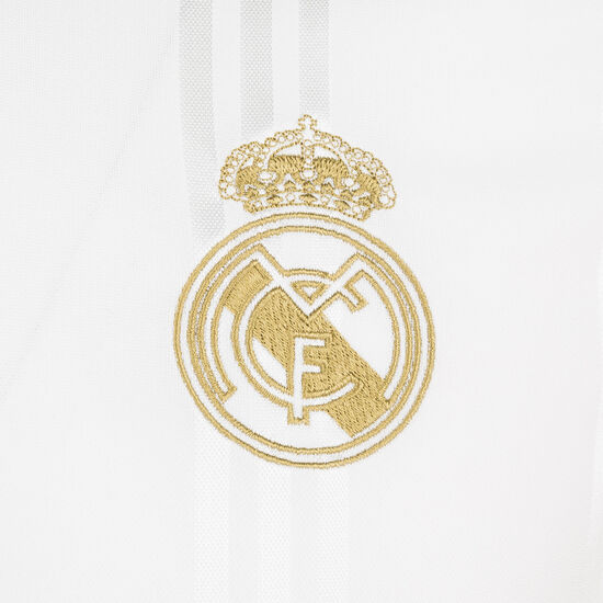 Real Madrid Icons Longsleeve Herren, weiß / schwarz, zoom bei OUTFITTER Online