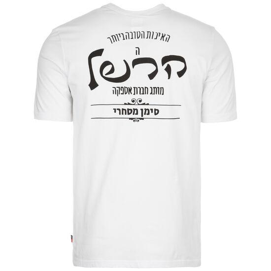 Tee T-Shirt Herren, weiß / schwarz, zoom bei OUTFITTER Online