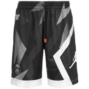 Paris St-Germain Jordan Blocked Diamond Trainingsshort Herren, schwarz / grau, zoom bei OUTFITTER Online