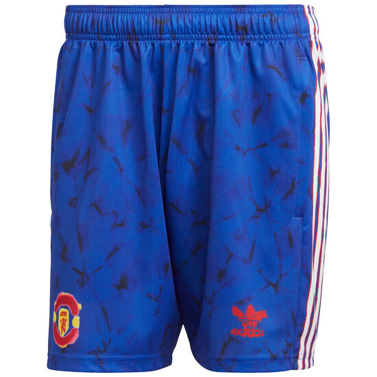 Manchester United Human Race FC Shorts Herren, blau / rot, zoom bei OUTFITTER Online
