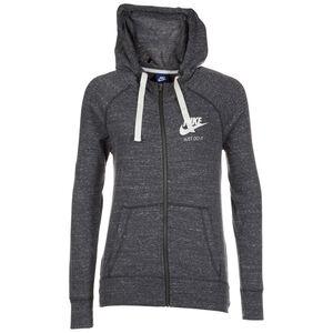 Gym Vintage Kapuzenjacke Damen, grau / weiß, zoom bei OUTFITTER Online