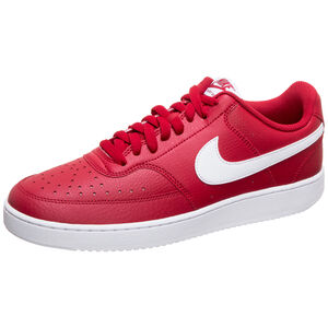 Court Vision Low Sneaker Herren, rot / weiß, zoom bei OUTFITTER Online