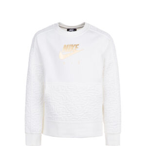 Air Fleece Top Sweatshirt Kinder, beige / gold, zoom bei OUTFITTER Online