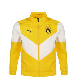 Borussia Dortmund Pre-Match Trainingsjacke Kinder, neongelb / weiß, zoom bei OUTFITTER Online