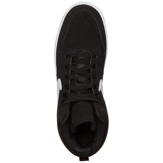 Court Borough Mid Sneaker Herren, Schwarz, zoom bei OUTFITTER Online
