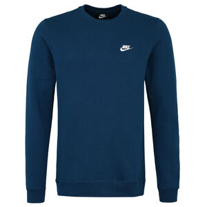 Club Fleece Sweatshirt Herren, blau / weiß, zoom bei OUTFITTER Online