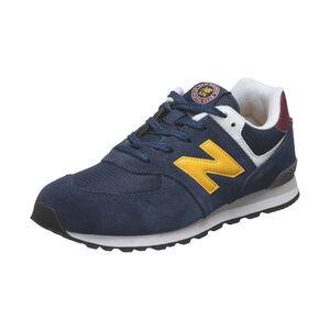 574 Sneaker Kinder, dunkelblau / gelb, zoom bei OUTFITTER Online