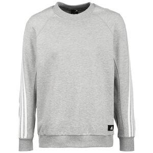 3-Streifen Sweatshirt Herren, grau, zoom bei OUTFITTER Online