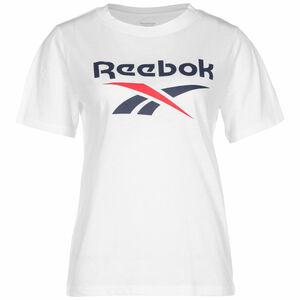 Identity Logo T-Shirt Damen, weiß / blau, zoom bei OUTFITTER Online