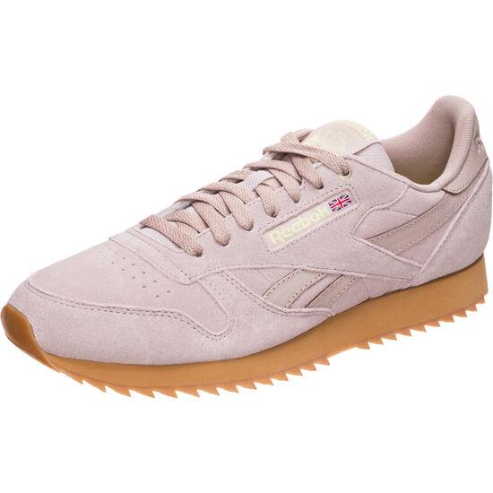 Classic Leather MU Sneaker, flieder / neongelb, zoom bei OUTFITTER Online