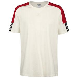 Essentials Logo Trainingsshirt Herren, beige / rot, zoom bei OUTFITTER Online