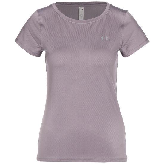 HeatGear Armour Trainingsshirt Damen, flieder, zoom bei OUTFITTER Online