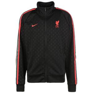 FC Liverpool N98 Trainingsjacke Herren, schwarz / neonrot, zoom bei OUTFITTER Online