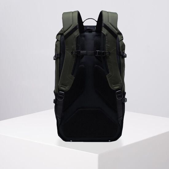 Barlow Large Rucksack, oliv / braun, zoom bei OUTFITTER Online