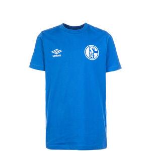 FC Schalke 04 Crew T-Shirt Kinder, Blau, zoom bei OUTFITTER Online