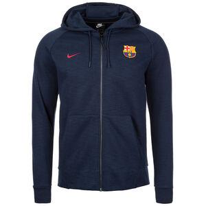 FC Barcelona Optic Kapuzenjacke Herren, Blau, zoom bei OUTFITTER Online